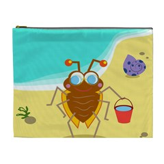 Animal Nature Cartoon Bug Insect Cosmetic Bag (xl)