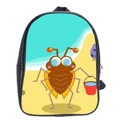 Animal Nature Cartoon Bug Insect School Bags(large)