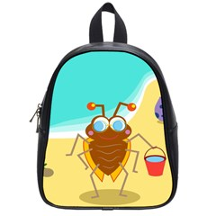 Animal Nature Cartoon Bug Insect School Bags (small)