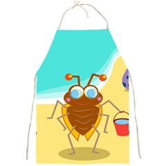 Animal Nature Cartoon Bug Insect Full Print Aprons