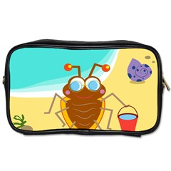 Animal Nature Cartoon Bug Insect Toiletries Bags