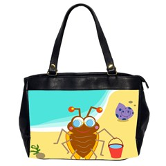 Animal Nature Cartoon Bug Insect Office Handbags (2 Sides)