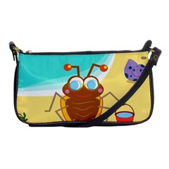 Animal Nature Cartoon Bug Insect Shoulder Clutch Bags