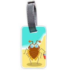 Animal Nature Cartoon Bug Insect Luggage Tags (one Side)