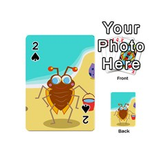 Animal Nature Cartoon Bug Insect Playing Cards 54 (mini)