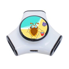 Animal Nature Cartoon Bug Insect 3 Port Usb Hub
