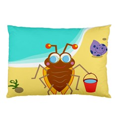 Animal Nature Cartoon Bug Insect Pillow Case (two Sides)