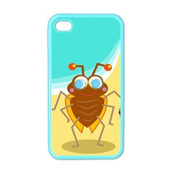 Animal Nature Cartoon Bug Insect Apple Iphone 4 Case (color)