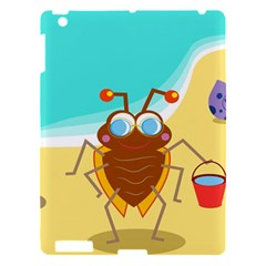 Animal Nature Cartoon Bug Insect Apple Ipad 3/4 Hardshell Case