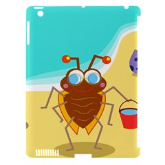 Animal Nature Cartoon Bug Insect Apple Ipad 3/4 Hardshell Case (compatible With Smart Cover)