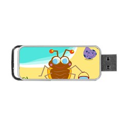Animal Nature Cartoon Bug Insect Portable Usb Flash (two Sides)