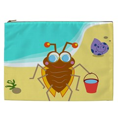 Animal Nature Cartoon Bug Insect Cosmetic Bag (xxl)