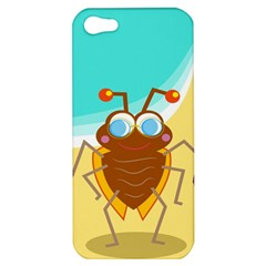 Animal Nature Cartoon Bug Insect Apple Iphone 5 Hardshell Case