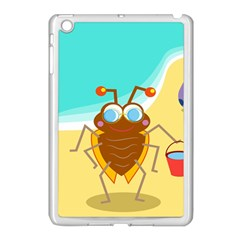 Animal Nature Cartoon Bug Insect Apple Ipad Mini Case (white)