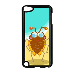 Animal Nature Cartoon Bug Insect Apple Ipod Touch 5 Case (black)