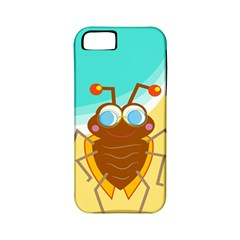 Animal Nature Cartoon Bug Insect Apple Iphone 5 Classic Hardshell Case (pc+silicone)