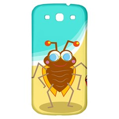 Animal Nature Cartoon Bug Insect Samsung Galaxy S3 S Iii Classic Hardshell Back Case