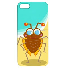 Animal Nature Cartoon Bug Insect Apple Iphone 5 Hardshell Case With Stand