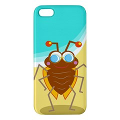 Animal Nature Cartoon Bug Insect Apple Iphone 5 Premium Hardshell Case