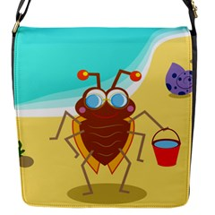 Animal Nature Cartoon Bug Insect Flap Messenger Bag (s)