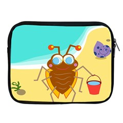 Animal Nature Cartoon Bug Insect Apple Ipad 2/3/4 Zipper Cases