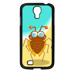 Animal Nature Cartoon Bug Insect Samsung Galaxy S4 I9500/ I9505 Case (black)