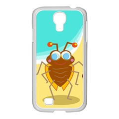 Animal Nature Cartoon Bug Insect Samsung Galaxy S4 I9500/ I9505 Case (white)