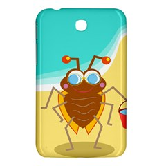Animal Nature Cartoon Bug Insect Samsung Galaxy Tab 3 (7 ) P3200 Hardshell Case