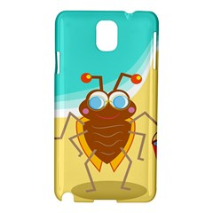 Animal Nature Cartoon Bug Insect Samsung Galaxy Note 3 N9005 Hardshell Case