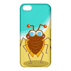Animal Nature Cartoon Bug Insect Apple Iphone 5c Hardshell Case