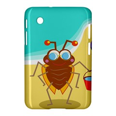 Animal Nature Cartoon Bug Insect Samsung Galaxy Tab 2 (7 ) P3100 Hardshell Case