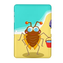 Animal Nature Cartoon Bug Insect Samsung Galaxy Tab 2 (10 1 ) P5100 Hardshell Case