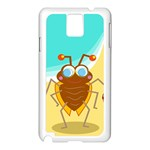 Animal Nature Cartoon Bug Insect Samsung Galaxy Note 3 N9005 Case (White) Front
