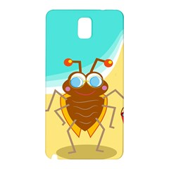Animal Nature Cartoon Bug Insect Samsung Galaxy Note 3 N9005 Hardshell Back Case