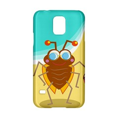 Animal Nature Cartoon Bug Insect Samsung Galaxy S5 Hardshell Case