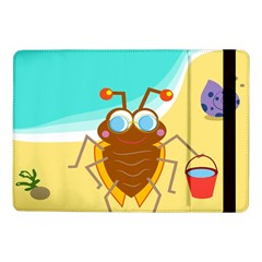 Animal Nature Cartoon Bug Insect Samsung Galaxy Tab Pro 10 1  Flip Case