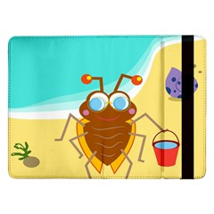 Animal Nature Cartoon Bug Insect Samsung Galaxy Tab Pro 12 2  Flip Case