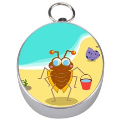 Animal Nature Cartoon Bug Insect Silver Compasses