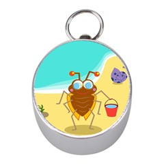 Animal Nature Cartoon Bug Insect Mini Silver Compasses