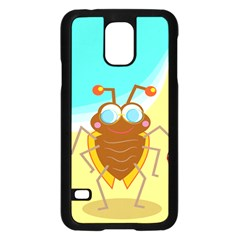 Animal Nature Cartoon Bug Insect Samsung Galaxy S5 Case (black)