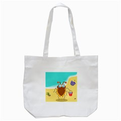 Animal Nature Cartoon Bug Insect Tote Bag (white)