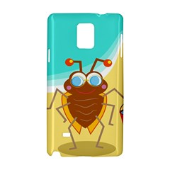 Animal Nature Cartoon Bug Insect Samsung Galaxy Note 4 Hardshell Case