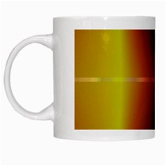 Abstract Painting White Mugs