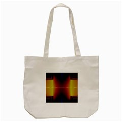 Abstract Painting Tote Bag (cream)