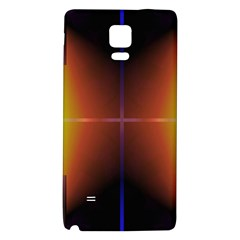 Abstract Painting Galaxy Note 4 Back Case