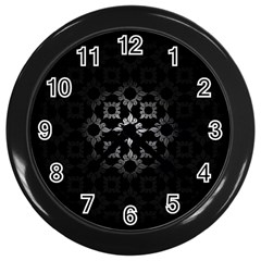 Antique Backdrop Background Baroque Wall Clocks (black) by Nexatart
