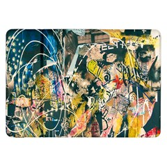 Art Graffiti Abstract Lines Samsung Galaxy Tab 8 9  P7300 Flip Case by Nexatart