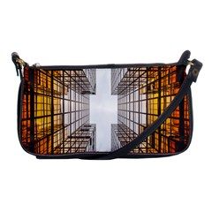 Architecture Facade Buildings Windows Shoulder Clutch Bags by Nexatart