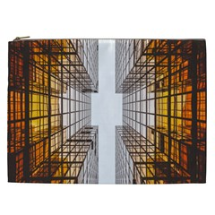 Architecture Facade Buildings Windows Cosmetic Bag (xxl)