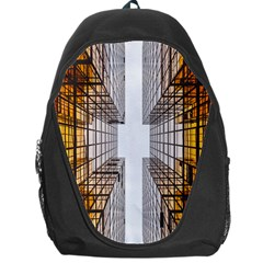Architecture Facade Buildings Windows Backpack Bag